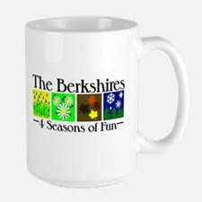 The Berkshires 4 seasons of fun Mug