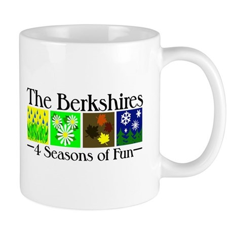 The Berkshires 4 seasons of fun Mug