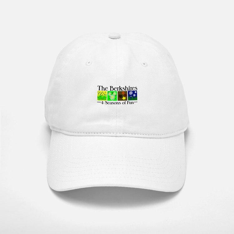 The Berkshires 4 seasons of fun Baseball Baseball Cap