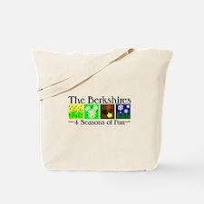 The Berkshires 4 seasons of fun Tote Bag