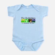 The Berkshires 4 seasons of fun Infant Bodysuit