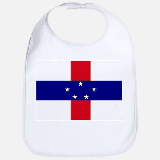 Netherlands Antilles Flag Bib