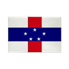 Netherlands Antilles Flag Rectangle Magnet