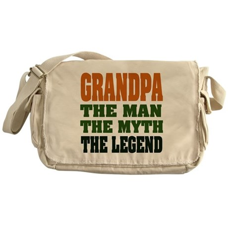 Grandpa - The Legend Messenger Bag