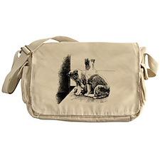 Puppy Feet Messenger Bag