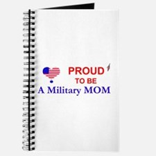 PROUD TO BE A MILITARY MOM Journal
