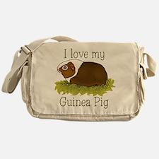I Love my Guinea Pig Messenger Bag
