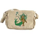 Anime Merman Messenger Bag