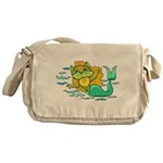 Kitty Mermaid Messenger Bag