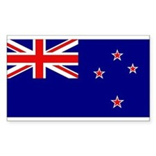 New Zealand Flag Rectangle Decal