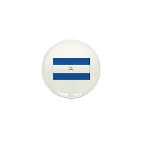 Nicaraguan Flag Mini Button (10 pack)