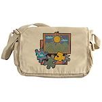 Jigsaw Puzzle Messenger Bag
