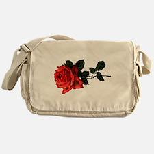 Victorian Garden Rose Messenger Bag