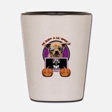 Just a Lil Spooky Chihuahua Shot Glass