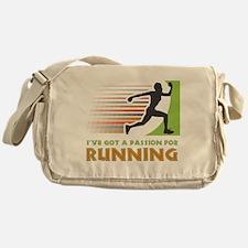 Passion for Running Messenger Bag