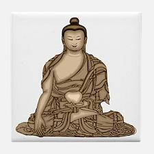 HINDU BUDDHA Tile Coaster