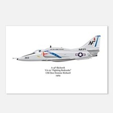 A-4F VF-22 Postcards (Package of 8)