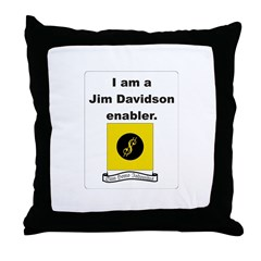Enable Me Throw Pillow