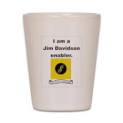 Enable Me Shot Glass