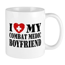 I Love My Combat Medic Boyfriend Mug