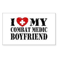 I Love My Combat Medic Boyfriend Decal