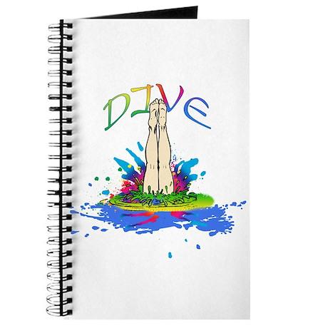 Colorful Dive Scores Journal