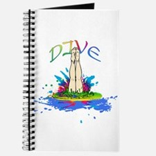 Colorful Dive Scores Journal