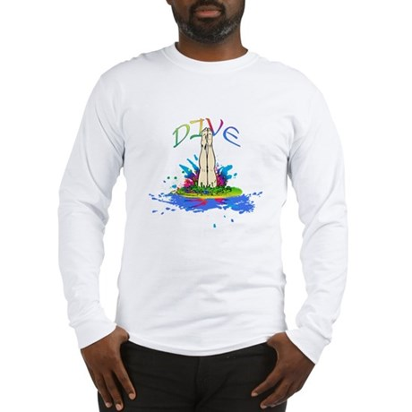 Colorful Dive Long Sleeve T-Shirt