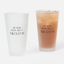 Rockstar Mom... Drinking Glass