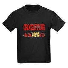 Crocheting Love T