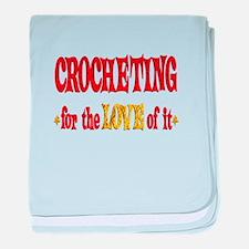 Crocheting Love baby blanket
