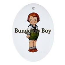 Boy Ornament (Oval)