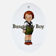 Boy Ornament (Oval)
