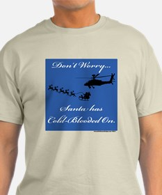 Santa's Cold-Blooded & the Apache T-Shirt