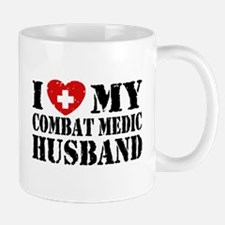 I Love My Combat Medic Husband Mug