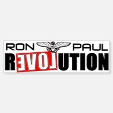 """""""Ron Paul Revolution"""" Bumper Bumper Sticker"""