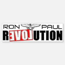 """""""Ron Paul Revolution"""" Sticker (Bumper)"""