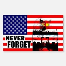 """""""Never Forget"""" Decal"""