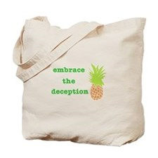 Cute Pineapple psych Tote Bag