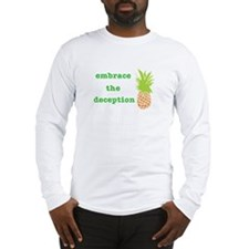 Cute Pineapple psych Long Sleeve T-Shirt