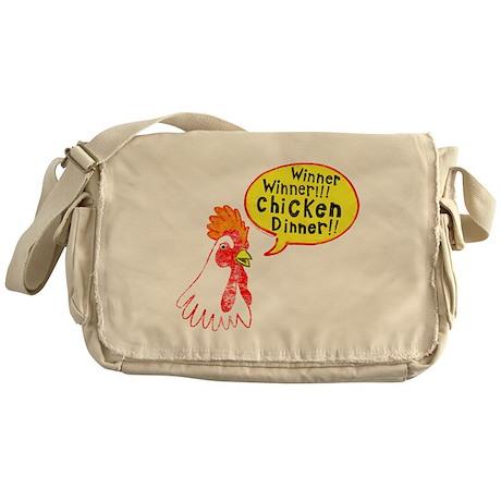 Winner Chicken Dinner Messenger Bag