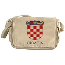 Croatia Coat of Arms Messenger Bag