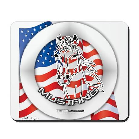 A Mustang Horse Mousepad