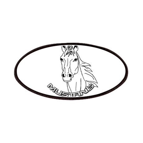 Mustang Plain Horse Patches