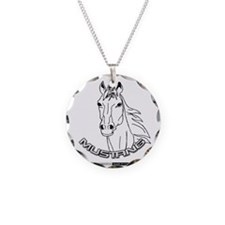 Mustang Plain Horse Necklace