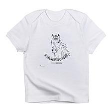 Mustang Plain Horse Infant T-Shirt