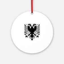 Albanian Eagle Ornament (Round)