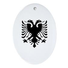 Albanian Eagle Ornament (Oval)