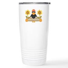 Fall Crow Travel Mug