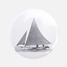 "Skipjack Sailboat 3.5"" Button"
